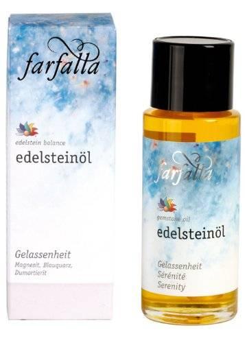 Farfalla Essentials - Edelstein-Balance-Öl: Gelassenheit