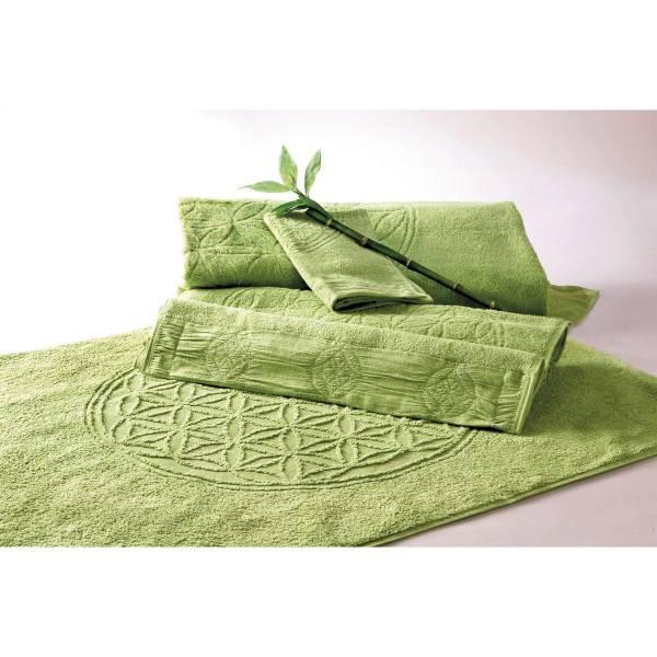 Spirit of OM - Badetuch bambus-grün - Massageunterlage