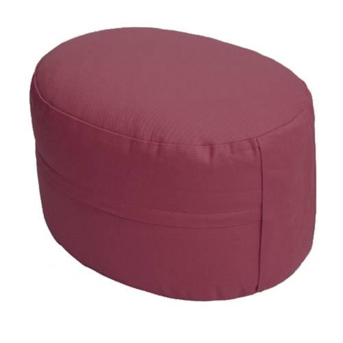 Meditationskissen - CLASSIC Oval weinrot