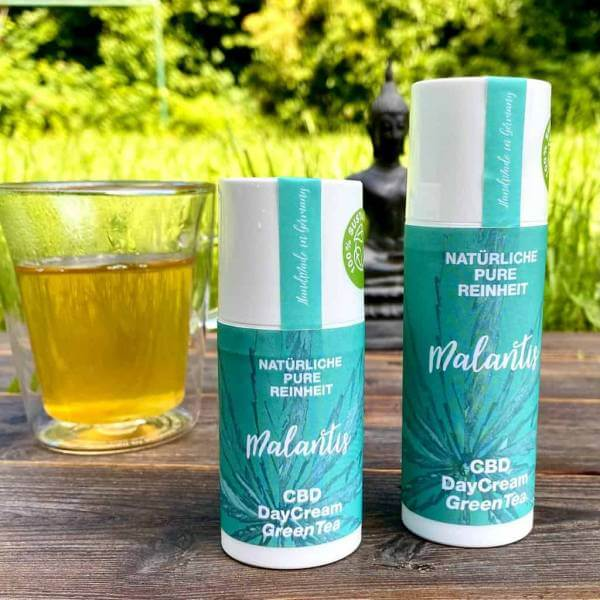 Malantis CBD DayCream GreenTea 30 ml