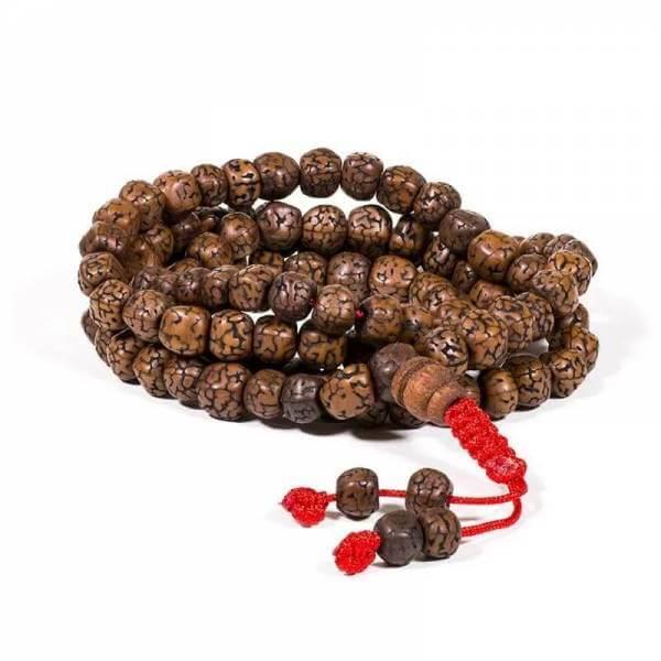 Mala Rudraksha 108 Perlen 0,6 cm