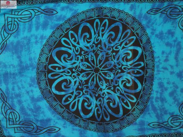 "Lunghi | Sarong - ""Celtic Ornament Lagoon"""