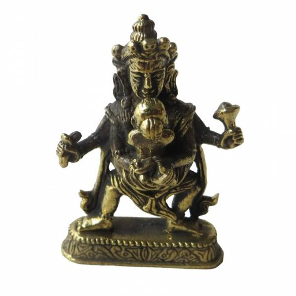 "Yab Yum - Messing-Figur ""Buddha Samantabhardra"""