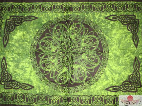 "Lunghi | Sarong ""Celtic Ornament Spirit of the Heart"""