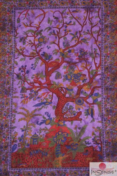 Ritualdecke - Tree of Life purple - Normal