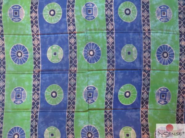 Lunghi | Sarong Shamanic grün-blau