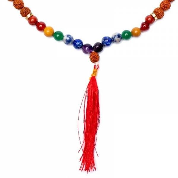 Mala Chakra Rudraksha 108 Perlen