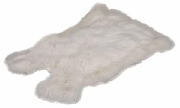 Kaninchenfell - schneeweiß (L)