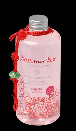 Lanna Oriental Spa - Kashmir rose collection® Aromatic Shower Gel