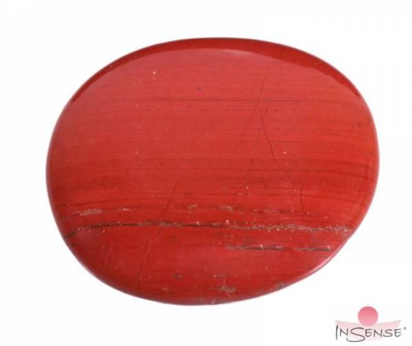 Massagestein | Chakra-Stein - Roter Jaspis