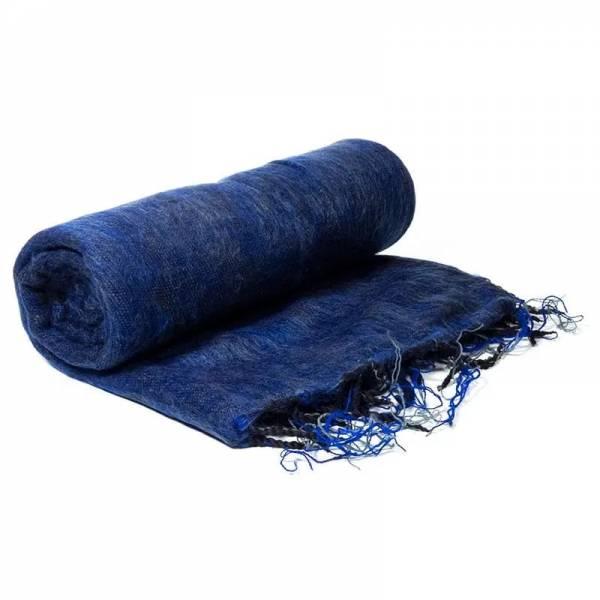 Schal für die Meditation Dunkelblau