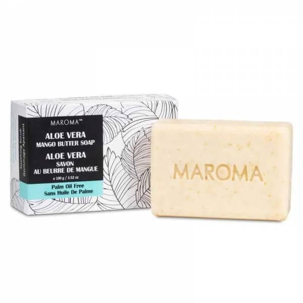 Maroma Mangobutter Peelingseife Aloe Vera Fair Trade Vegan