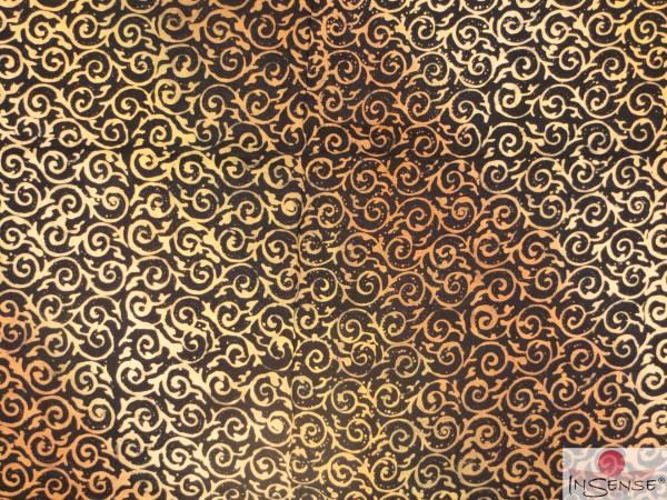 "Premium Lunghi | Sarong - ""Elegance"" schwarz-gold"