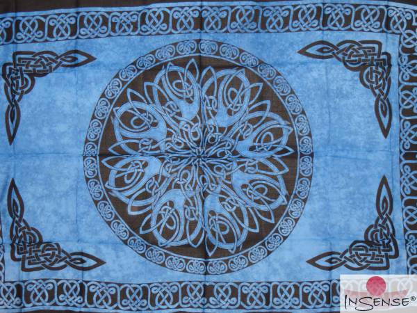 "Lunghi | Sarong ""Celtic Ornament Ocean"""