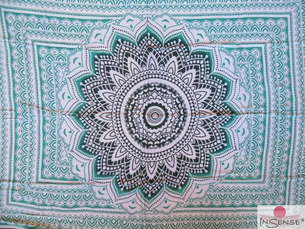 "Lunghi | Sarong ""Mandala Dream"" mint"