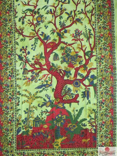 Ritualdecke - Tree of Life green - Normal