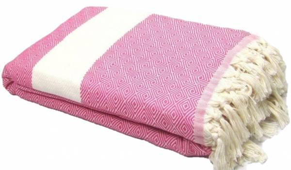 Plaid | Ritualdecke - Brilliant pink