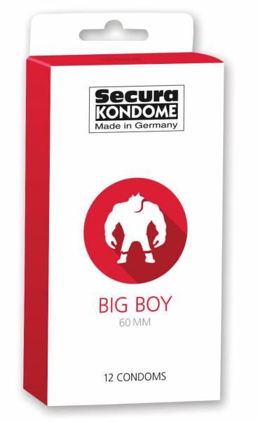 SECURA Big Boy 60mm 12 St. Kondome