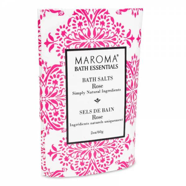 Maroma Badesalz Rose