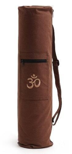 Yogatasche OM yogibag® basic choco - 65 cm