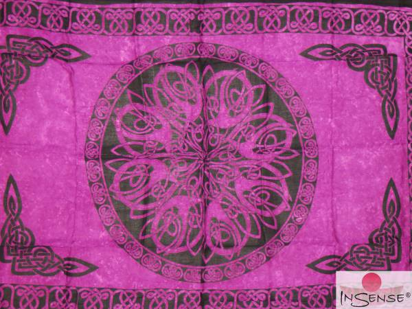 "Lunghi | Sarong ""Celtic Ornament Violet"""