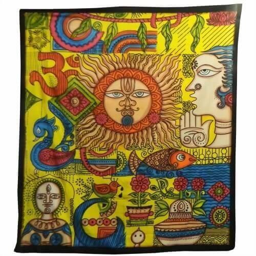 Ritualdecke - Sunny Gelb - Doppelt