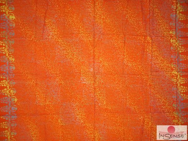 "Lunghi | Sarong - ""Infinity"" orange"
