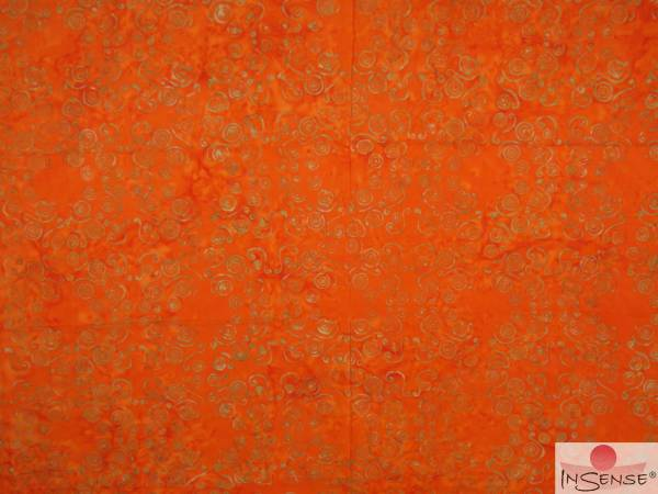 "XL Premium Lunghi | Sarong - ""Wailele"" orange"