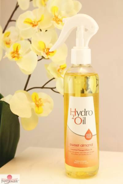 """Wasserlösliches Massageöl - Spray """"Hydro2 Süße Mandel"""""""