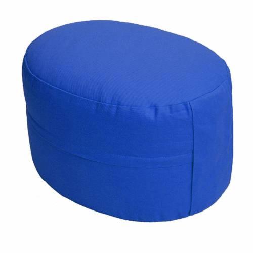 Meditationskissen - CLASSIC Oval marineblau