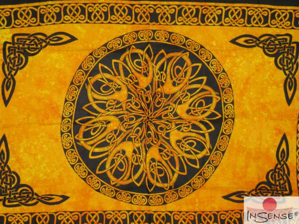 "Lunghi | Sarong ""Celtic Ornament Sun"""