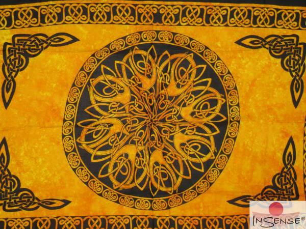 "Lunghi | Sarong ""Celtic Ornament Sun"""
