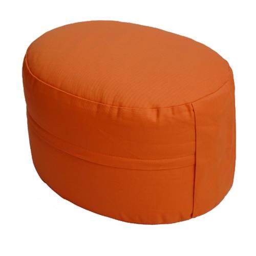 Meditationskissen - CLASSIC Oval rotorange