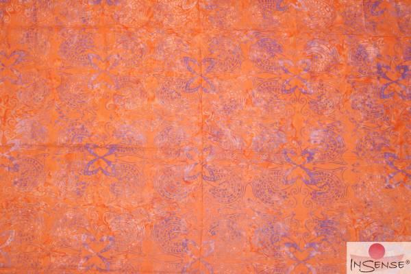 "Premium Lunghi | Sarong - ""Wahini"" orange"