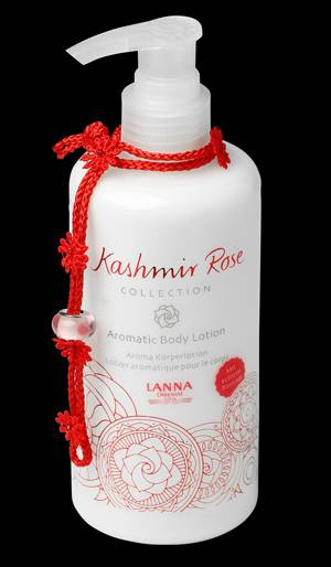 Lanna Oriental Spa - Kashmir rose collection® Aromatic Body Lotion Kashmir Rose