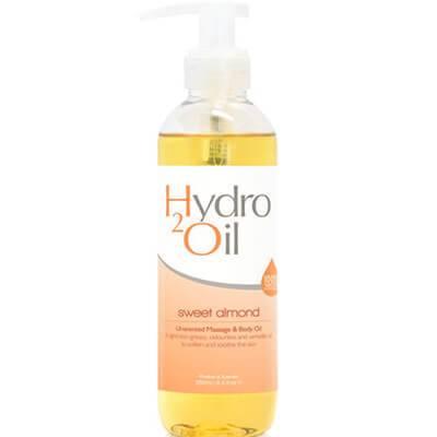 """Wasserlösliches Massageöl """"Hydro2 Süße Mandel"""""""