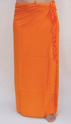 Premium Lunghi | Sarong - goldgelb