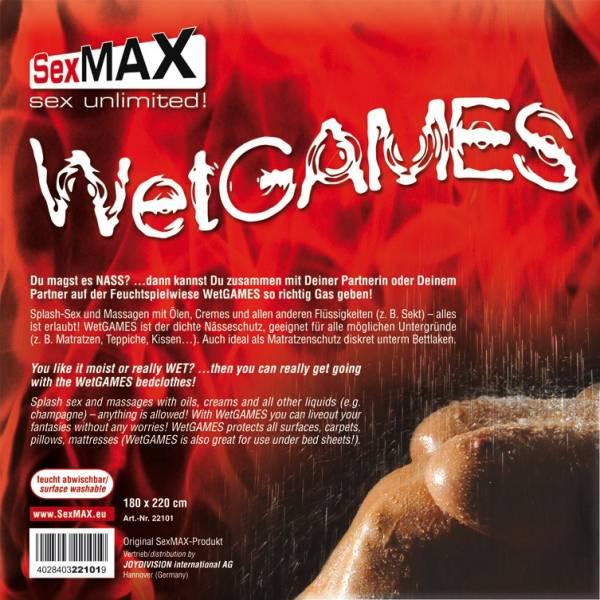 WetGames Laken - WEISS - maschinenwaschbar 30