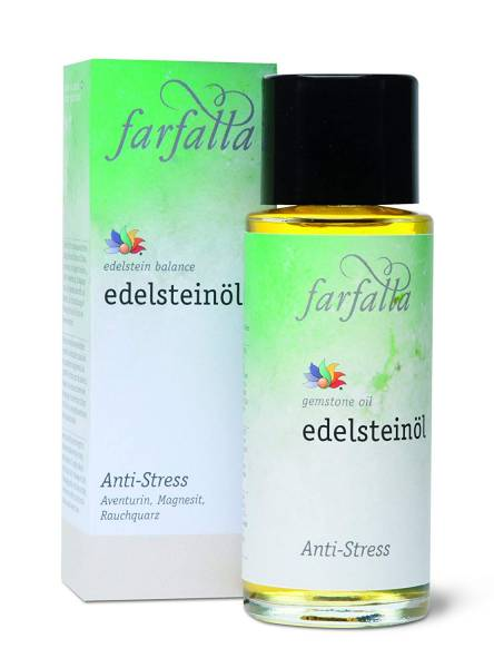 Farfalla Essentials - Edelstein-Balance-Öl: Anti-Stress