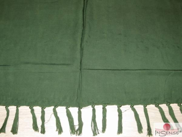 Premium Lunghi | Sarong - dunkelgrün