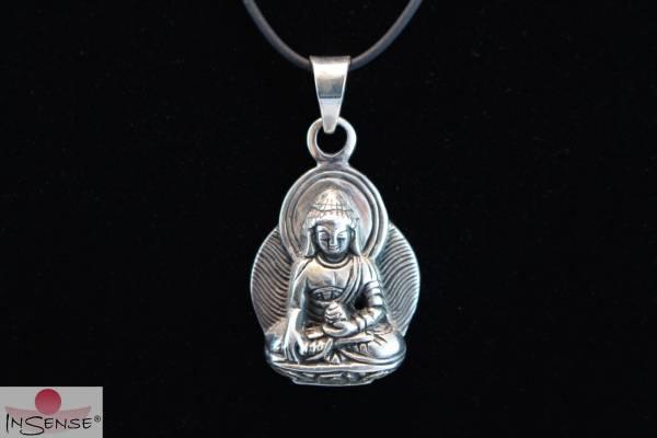 Silber-Anhänger - Buddha