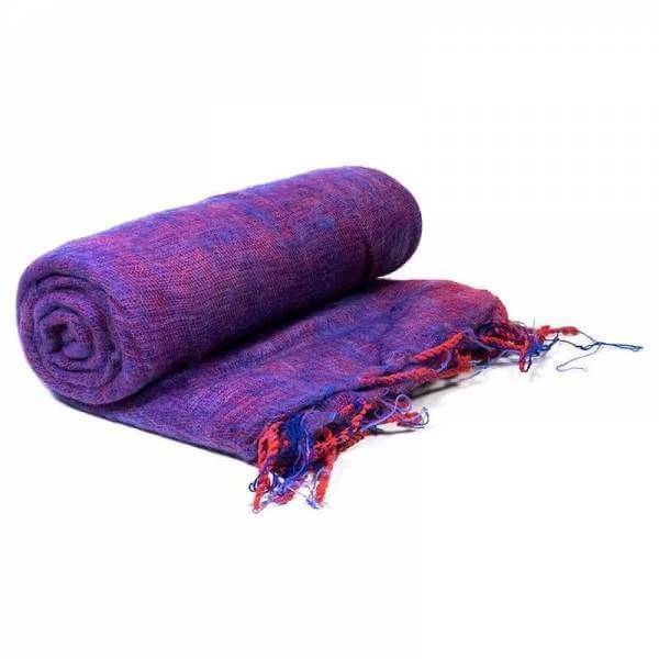 Schal für die Meditation Violett