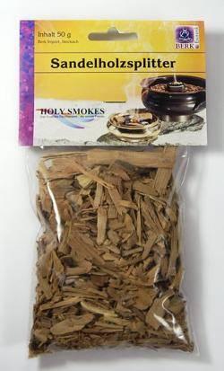 Reine Kräuter zum Räuchern - Sandelholz-Splitter