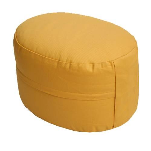 Meditationskissen - CLASSIC Oval gelb