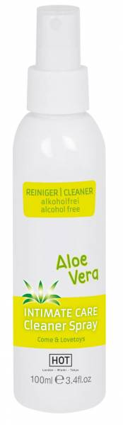 HOT INTIMATE CARE Cleaner Spray Aloe Vera 100ml