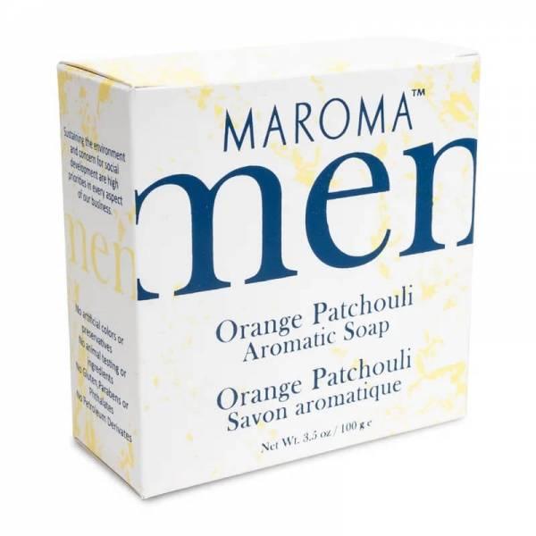 Maroma Seife für Herren Orange Patchouli