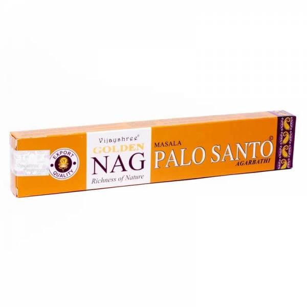 Räucherstäbchen Golden Nag Palo Santo