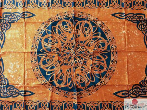 "Lunghi | Sarong - ""Celtic Ornament Earth"""