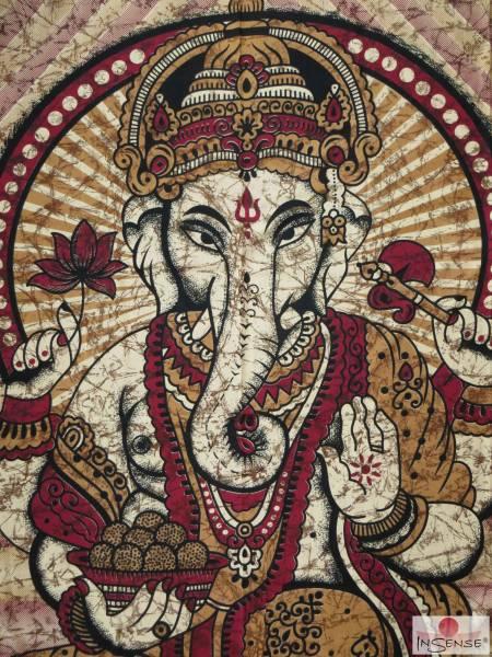 Ritualdecke - Ganesha I - Doppelt