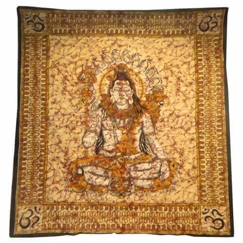 Ritualdecke - Shiva - Doppelt